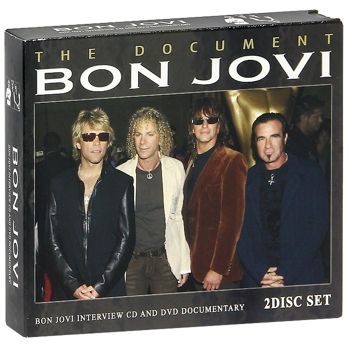Джон Бон Джови Bon Jovi. Bon Jovi Interview CD And DVD Documentary (CD + DVD) bon jovi in their own words