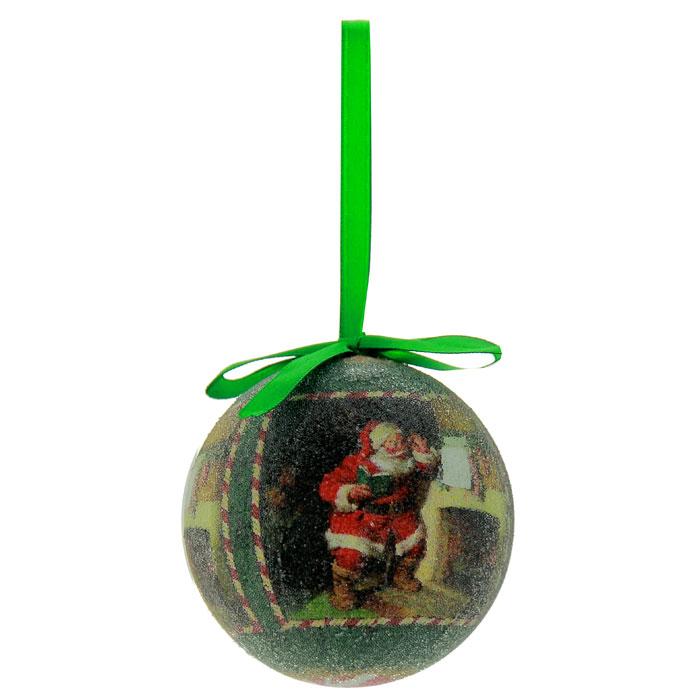 Набор подвесных новогодних украшений Шары, цвет: зеленый, 6 шт. Ф21-215226973Набор подвесных украшений Шары украсит новогоднюю елку и создаст теплую и уютную атмосферу праздника. В набор входят 6 шаров, выполненных из пластика зеленого цвета и оформленных изображением Санта Клауса. Шарики упакованы в пластиковую коробку.Елочная игрушка - символ Нового года. Она несет в себе волшебство и красоту праздника. Создайте в своем доме атмосферу веселья и радости, украшаявсей семьейновогоднюю елку нарядными игрушками, которые будут из года в год накапливать теплоту воспоминаний. Характеристики:Материал:пластик, текстиль.Диаметр шара:7,5 см.Размер упаковки:22,5 см х 7 см х 15 см.Изготовитель:Китай.Артикул:Ф21-2152.