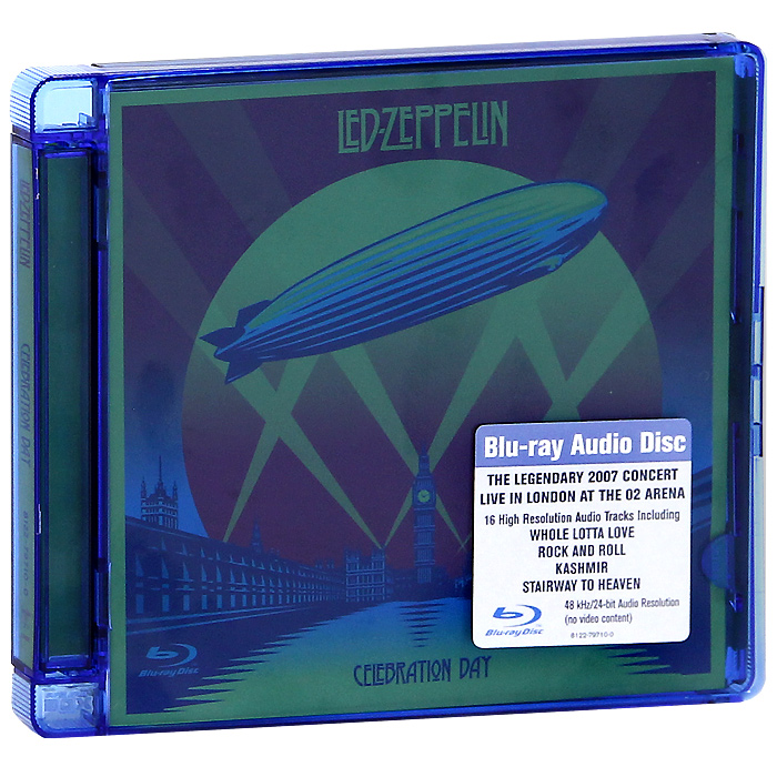 Led Zeppelin Led Zeppelin. Celebration Day (Blu-Ray Audio) rush rush signals blu ray audio
