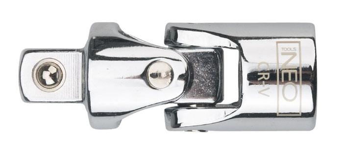 Шарнир карданный Neo 1/22706 (ПО)Шарнир карданный Neo позволяет менять угол наклона инструмента относительно монтируемой детали. Шарнир имеет присоединительный квадрат с шариковым фиксатором. Шарнир карданный используется при работе с резьбовыми соединениями в труднодоступных местах. Характеристики: Материал: хром-ванадий. Размер переходника: 1/2. Размер шарнира: 7 см х 2,5 см х 2,5 мм. Размер упаковки:13 см х 4,5 см х 2,5 см.