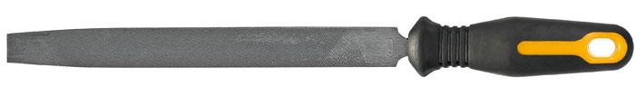 Напильник по металлу Topex, плоский, 20 см04-023Напильник по металлу Торех с личной насечкой изготовлен из высококачественной инструментальной стали. Эргономичная двухкомпонентная ручка, будет удобна при работе с инструментом и не позволит ему выскользнуть из рук. Характеристики: Материал:сталь, пластик, резина. Длина напильника:20 см. Длина ручки: 11 см. Размер упаковки: 37 см х 7 см х 3 см.