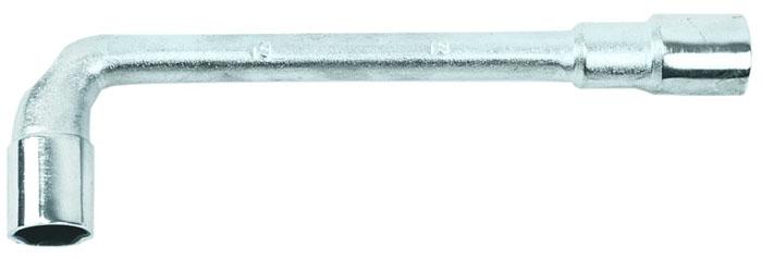 Ключ торцевой L-образный Topex, 8 ммАксион Т-33Ключ торцевой L-образный Topex используется в быту, гараже, автосервисах и при проведении слесарных работ, когда необходимо работать с труднодоступным резьбовым соединением, где другой инструмент невозможно использовать. Он отлично подходит для крепежа, расположенного в углублениях и для работы в ограниченном пространстве. Характеристики: Материал: хром ванадий. Размер: 11 см х 3 см х 1,5 см. Размер упаковки: 11 см х 3 см х 1,5 см.
