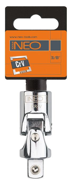 Шарнир карданный Neo 3/82706 (ПО)Шарнир карданный Neo позволяет менять угол наклона инструмента относительно монтируемой детали. Шарнир имеет присоединительный квадрат с шариковым фиксатором. Шарнир карданный используется при работе с резьбовыми соединениями в труднодоступных местах. Характеристики: Материал: хром-ванадий. Размер переходника: 3/8. Размер шарнира: 5,5 см х 1,5 см х 1,5 мм. Размер упаковки:11 см х 4,5 см х 1,5 см.