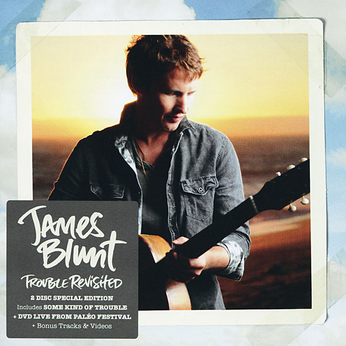Джеймс Блант James Blunt. Trouble Revisited. Special Edition (CD + DVD) джеймс блант james blunt all the lost souls deluxe edition cd dvd