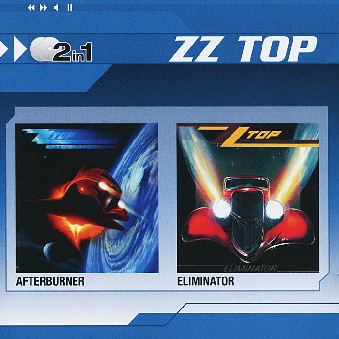 ZZ Top ZZ Top. Afterburner / Eliminator (2 CD)