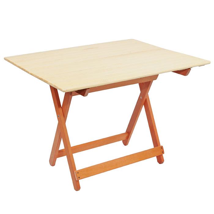 Стол складной для бани и сауны Банные штучки, большой, цвет: светлое дерево32185Деревянный складной стол Банные штучки, выполненный из натурального дерева сосны, прекрасно подойдет для бани или сауны. Стол имеет компактные размеры и легко устанавливается. Характеристики: Материал: дерево, металл. Размер столика (Д х Ш х В):80 см х 60 см х 75 см. Размер упаковки:83,5 см х 80 см х 8,5 см. Производитель:Россия. Артикул:32185.