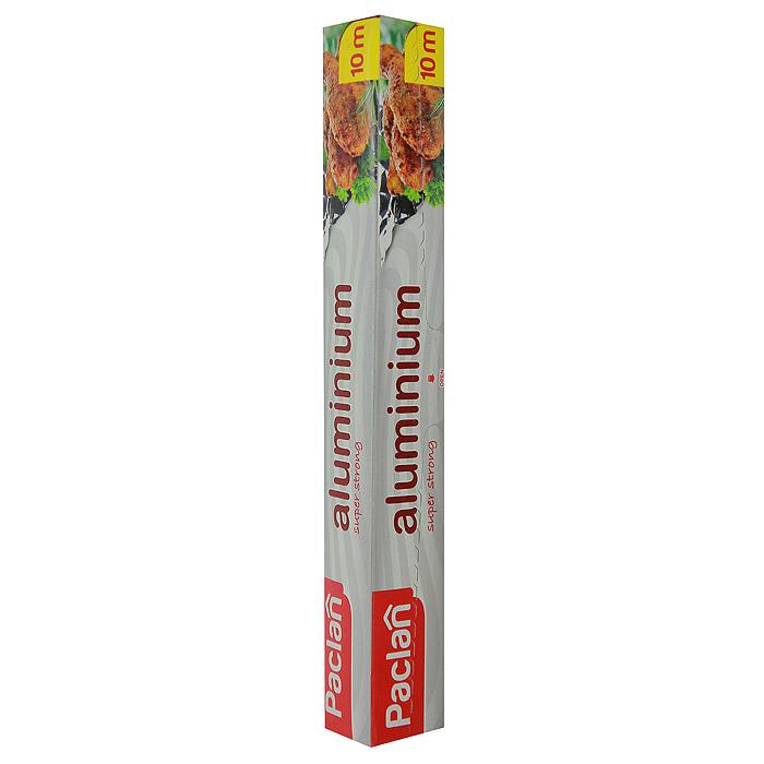 Фольга алюминиевая Paclan, 10 м115510Фольга Paclan, изготовленная из алюминия, предназначена для хранения и упаковки продуктов, а также приготовления блюд в духовке или на гриле. Она сохраняет витамины и микроэлементы, естественную свежесть, вкус и аромат пищевых продуктов. Не рекомендуется использовать для хранения влажных, кислых или соленых продуктов.Характеристики:Материал:алюминий. Размер:10 м. Размер упаковки:31 см х 4 см х 4 см. Производитель:Польша. Артикул:13334.