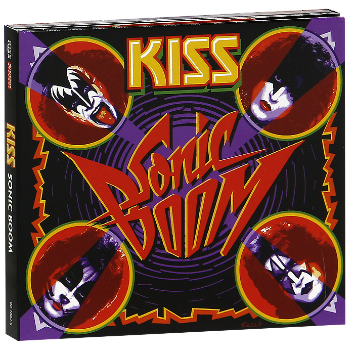 Kiss Kiss. Sonic Boom. Special Edition (2 CD + DVD)