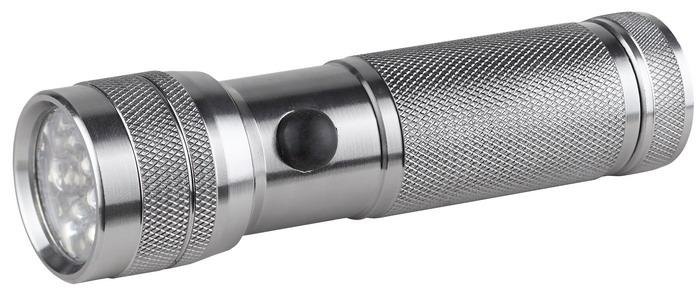 Светодиодный алюминиевый фонарь ЭРА SD14AS009Компактный светодиодный фонарь ЭРА SD14 имеет корпус из анодированного алюминия, оснащен современными светодиодами. Будет полезен в дороге и домашнем хозяйстве. Характеристики:Материал: алюминий. Размер упаковки: 17 см х 3 см х 12 см. Размер фонаря: 12 см х 3 см х 3 см.