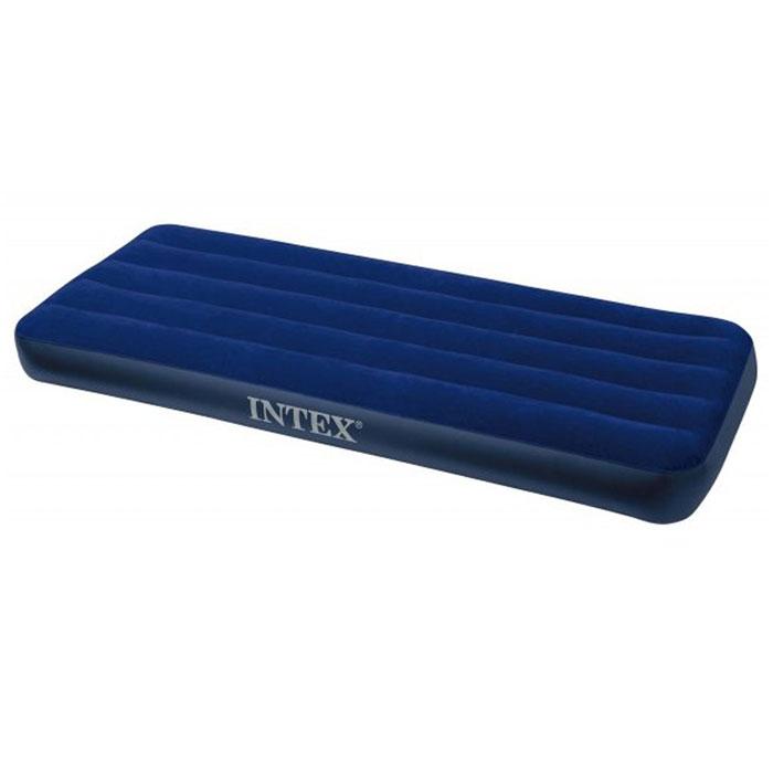 Матрас надувной Intex Classic Downy, 193 см х 76 см х 22 см67742Надувная кровать INTEX68950 - это действительно кровать на все случаи жизни. Она прекрасно подойдёт для использования дома в качестве дополнительного спального места. К Вам приехал гость, прекрасно, спальное место уже готово, только добавьте воздух! Она сделает Ваш сон лёгким и приятным.Если Вы собираетесь в поездку на дачу, в поход, на пикник, то такая надувная кровать окажется очень кстати - Вы прекрасно отдохнёте на ней и днём, и ночью, а оказавшись на водоёме, сможете использовать её на воде, ведь она создана и для этого. Гарантия производителя: 30 дней. Характеристики:Материал:ПВХ. Размер матраса:193 см х 76 см х 22 см. Размер упаковки:31 см х 8 см х 24 см.