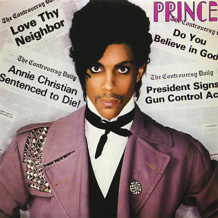 Prince.  Controversy (LP) Warner Music Group Company,Торговая Фирма