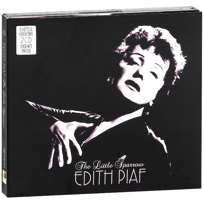 Edith Piaf. The Little Sparrow (2 CD)