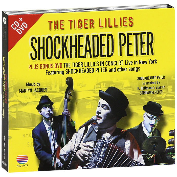 The Tiger Lillies The Tiger Lillies. Shockheaded Peter And Other Sonds (CD + DVD) питер гэбриэл peter gabriel hit 2 cd