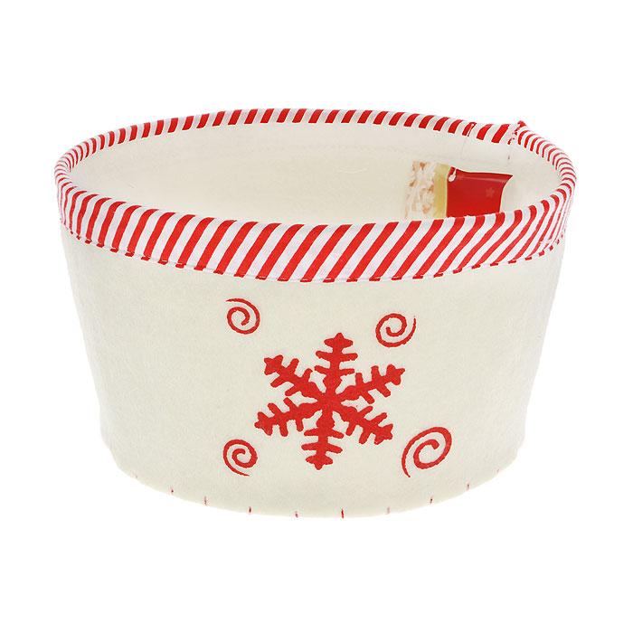 "Сухарница House & Holder ""Снежинка"", цвет: белый. 117003"