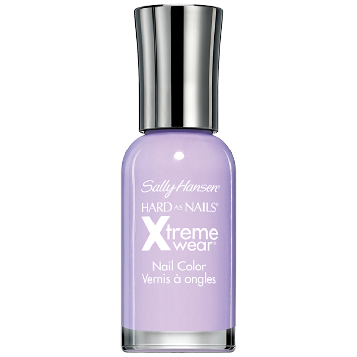 Sally Hansen Лак для ногтей Hard As Nails Xtreme Wear Nail Color, тон №270 Lacey Lilac, 11,8 мл sally hansen velvet texture лак для ногтей тон 650 regal 14 5 мл