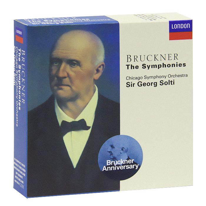 Георг Шолти,Chicago Symphony Orchestra Sir Georg Solti, Chicago Symphony Orchestra. Bruckner.The Symphonies (10 CD) георг шолти chicago symphony orchestra sir georg solti chicago symphony orchestra bruckner the symphonies 10 cd