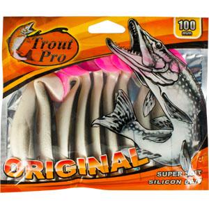 Риппер Trout Pro Original, длина 10 см, 10 шт. 35312010-01199-23Приманка предназначена для джиговой ловли хищной рыбы: окуня, судака, щуки. Специальная пластина придает приманке колебательные движения, усиливая ее сходство с живой рыбкой. Характеристики:Длина: 10 см. Цвет тела:155. Материал: эластичный полимер. Размер упаковки: 16,8 см х 14,2 см х 0,9 см. Производитель: Китай. Артикул: 35312.