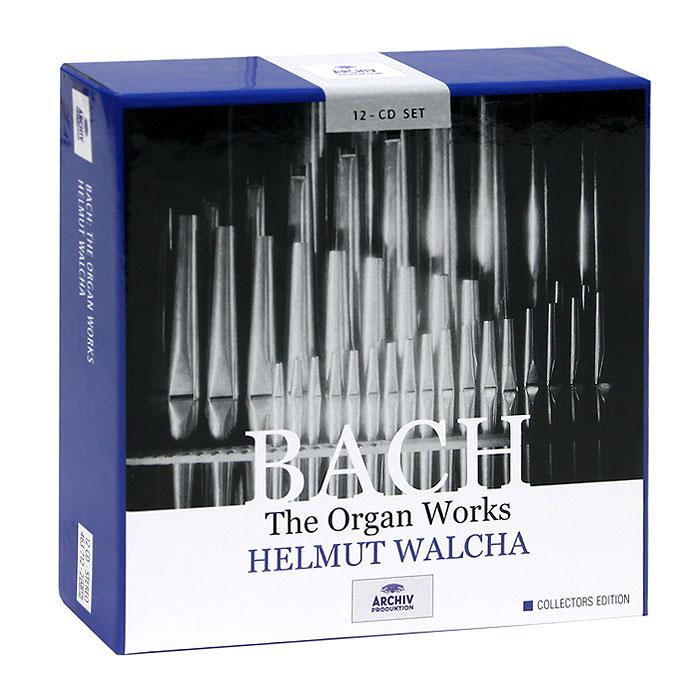 Хельмут Вальха Helmut Walcha. Bach. The Organ Works (12 CD) херберт ташеци das alte werk herbert tachezi renaissance and baroque organ music 3 cd