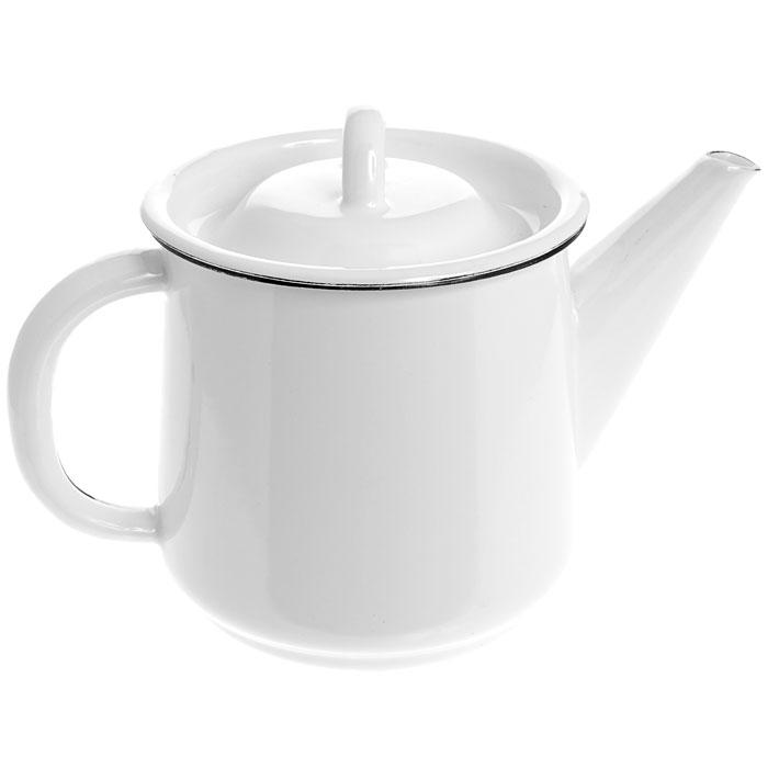 Чайник эмалированный, 1 л. 2С202FS-91909Чайник, выполненный из высококачественной стали и покрытый эмалью, предназначен для кипячения воды. Чайник имеет классическую форму, оснащен удобной ручкой, крышкой и носиком. Такой чайник не требует особого ухода и его легко мыть.Благодаря классическому дизайну и удобству в использовании чайник займет достойное место на вашей кухне. Характеристики: Материал:эмалированная сталь. Диаметр чайника по верхнему краю:11 см. Высота чайника (без учета крышки):12 см. Объем:1 л. Производитель: Россия. Артикул:2С202.