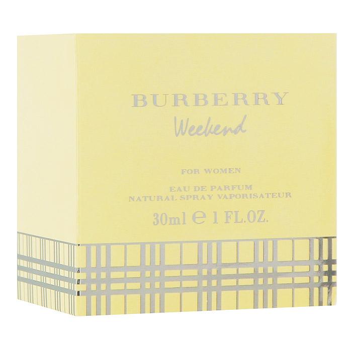 Burberry Weekend Women Парфюмерная вода, 30 мл1301210Аромат Burberry Weekend For Women - это призыв к отдыху, приглашение расслабиться и насладиться жизнью. Этот аромат полностью оправдывает свое название, принося вместе с собой ощущение легкости, непринужденности и радости. Бодрящий, свежий женский аромат с восхитительным набором ярких оттенков и мягких ноток, приносящих уверенность в себе и радость жизни.Классификация аромата: цитрусовые, древесные, мускусные, свежие. Сандал, мускус, мандарин, бергамот, древесина, лимон, грейпфрут, дубовый мох, амбра, ананас, арбуз, мед, цитрусовые, плющ, дыня. Товар сертифицирован.