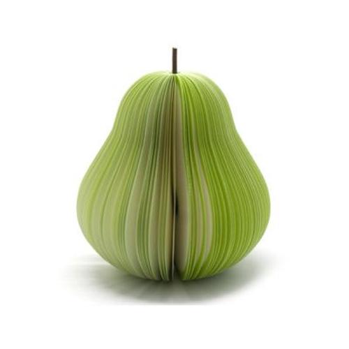 Блокнот для записей Фрукты Зеленая груша000116Оригинальный блокнот Фрукты Зеленая груша идеально подойдет для памятных записей, любимых стихов, рисунков и многого другого. Блокнот выполнен в виде зеленой груши и хранится в специальной сеточке для фруктов. Блокнот станет забавным и практичным подарком: он не затеряется среди бумаг и долгое время будет вызывать улыбку окружающих. Характеристики:Материал:бумага, пластик. Размер в сложенном виде: 4,5 см х 11 см х 1,3 см. Размер в разложенном виде: 9 см х 9 см x 11 см. Артикул: 000126.