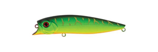 Воблер Tsuribito Jerk POP, длина 11 см, вес 14,4 г. 110F/028110F/028Воблер Tsuribito Jerk POP необычная, но очень результативная приманка. При небольших рывках отлично имитирует подраненную рыбку. При остановках приманка выходит на поверхность, а при рывках уходит на полметра. Эти качества позволяют эффективно ловить рыбу в мелководных заливах над зарослями травы. Характеристики:Материал: металл, пластик. Длина: 11 см. Вес: 14,4 г. Цвет тела:028 Рабочая глубина: 0,5 - 0,8 м. Плавучесть - плавающий. Размер упаковки: 16,3 см х 4 см х 2,8 см. Производитель: Япония. Артикул:110F/028.
