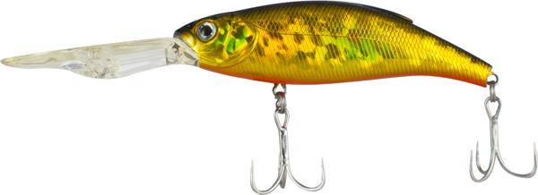 Воблер Tsuribito Deep Shaker 100F, № 002, длина 10 см, вес 31 г. 288954271825Deep Shaker 100F - плавающий воблер для троллинговой ловли. Кроме довольно привлекательной игры воблера, благодаря шарикам внутри, приманка обладает акустическим воздействием на рыбу.Характеристики:Длина: 10 см. Вес: 31 г. Цвет тела: 002. Глубина: 4-5 м. Плавучесть: плавающий. Материал: металл, пластик. Производитель: Китай. Артикул: 28895.