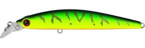 Воблер Tsuribito Minnow, длина 9,5 см, вес 9,6 г. 95S/02895S/028Воблер Minnow 95S подходит для ловли самой разнообразной, особенно крупной, рыбы. Обладает отменной реалистичной игрой при равномерной проводке. Воблер устойчиво работает на течении, что расширяет возможности применения этой приманки. Система дальнего заброса позволяет добиться хорошей дальности. Характеристики:Длина: 9,5 см. Цвет тела: 028. Вес:9,6 г. Рабочая глубина: 1 - 1,5 м. Размер упаковки: 16,3 см х 4 см х 2,8 см. Плавучесть: плавающий. Материал: металл, пластик. Производитель: Китай. Артикул: 95S/028.