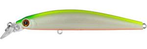 Воблер Tsuribito Minnow, длина 9,5 см, вес 9,6 г. 95S/038LJSB02-002Воблер Minnow 95S подходит для ловли самой разнообразной, особенно крупной, рыбы. Обладает отменной реалистичной игрой при равномерной проводке. Воблер устойчиво работает на течении, что расширяет возможности применения этой приманки. Система дальнего заброса позволяет добиться хорошей дальности. Характеристики:Длина: 9,5 см. Цвет тела: 038. Вес:9,6 г. Рабочая глубина: 1 - 1,5 м. Размер упаковки: 16,3 см х 4 см х 2,8 см. Плавучесть: плавающий. Материал: металл, пластик. Производитель: Китай. Артикул: 95S/038.