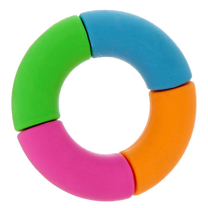 Ластик Спасательный круг. 002260196101Ластик Спасательный круг станет незаменимым аксессуаром на рабочем столе не только школьника или студента, но и офисного работника. Ластик круглой формы выполнен в яркой цветовой гамме. Такой ластик поднимет настроение и станет оригинальным сувениром. Характеристики:Материал: резина. Диаметр ластика: 4,5 см. Артикул: 002260.