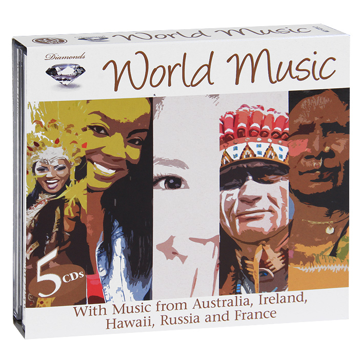 Diamonds.  World Music (5 CD) Music& Melody,Концерн