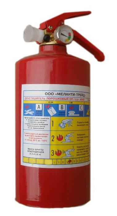Огнетушитель порошковый ОП-1 с манометром, 1 лВетерок 2ГФОгнетушитель ОП-1 с манометром предназначен для тушения твердых, жидких и газообразных горючих веществ, а так же электроустановок, находящихся под напряжением до 1000В. Характеристики: Время выхода заряда: не менее 6 сек.Длина выброса: не менее 2 м.Масса: 1.7 - 1.8 сек.Рабочее давление: 1,4 МПа.Размеры: 27,3 см х 14 см х 10 см.Размеры упаковки 27,3 см х 14 см х 10 см.Артикул:5206.