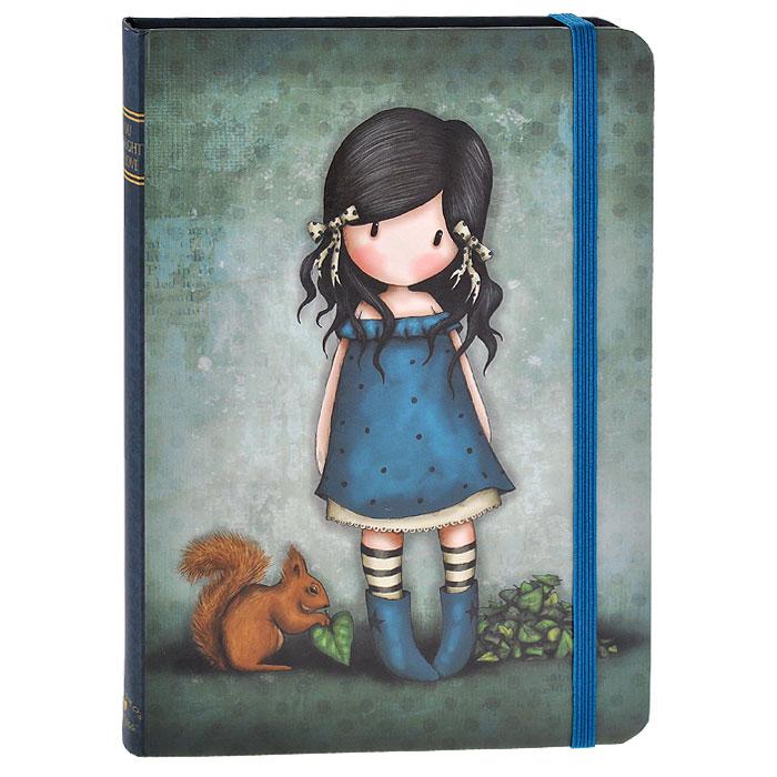 Блокнот You Brought Me Love, цвет: синий. 001302372523WDОчаровательный блокнот в твердом переплете You Brought Me Love не позволит потеряться ни одной идее в потоке событий и станет прекрасным подарком для любительницы оригинальных вещиц. Обложка выполнена изплотного картона с выборочной лакировкой и оформлена изображением девочки. Дополнительный штрих - аккуратные скругленные уголки. Внутренний блок выполнен из плотной бумаги кремового цвета. Закладка-ляссе поможет ориентироваться в записях. На задней обложке расположен вместительный кармашек для заметок. Блокнот плотно закрывается при помощи фиксирующей резинки. Характеристики: Материал: картон, бумага, текстиль. Размер: 19,5 см x 14 см x 1,8 см. Цвет: синий. Артикул: 0013023.