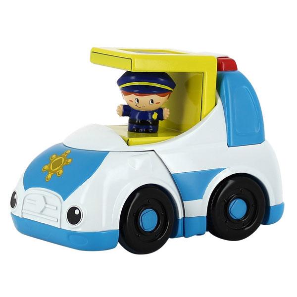 Машинка Kidz Delight Полиция, со звуковыми эффектами машинки kidz delight машинка полиция