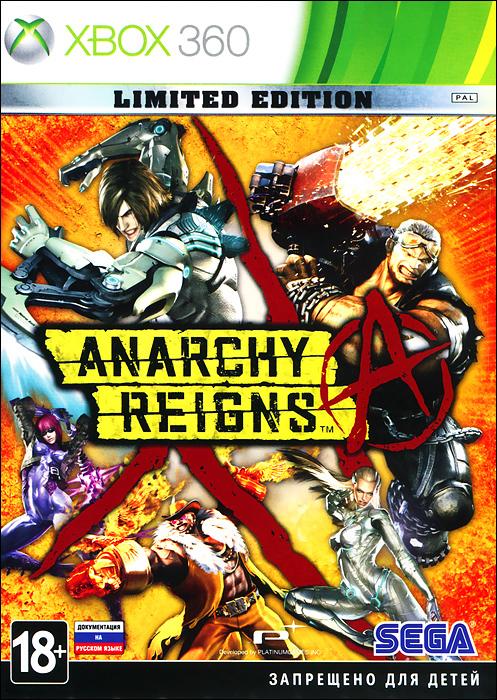 Anarchy Reigns. Limited Edition (Xbox 360) anarchy reigns limited edition игра для ps3