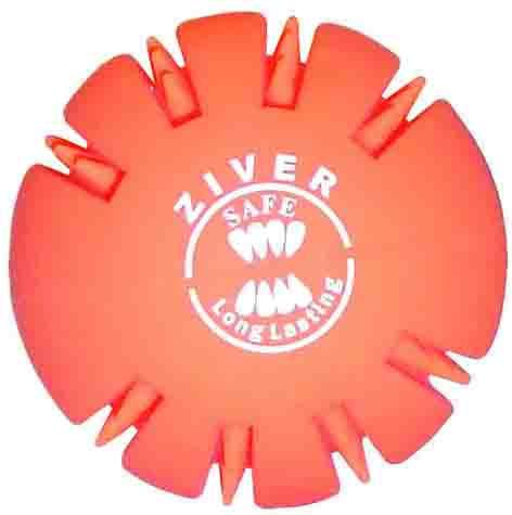 Игрушка для собак Ziver Мяч жевательный, цвет: оранжевый, диаметр 6 см0120710Игрушка для собак Ziver Мяч жевательный изготовлена из натурального каучука с использованием только безопасных, не токсичных красителей. Массирует десны и чистит зубы вашего питомца, развивает осязание и реакцию во время игры. Привлечет внимание вашего любимца, позволит весело провести ему время, не навредит здоровью, а также поможет вам сохранить в целости личные вещи и предметы интерьера. Диаметр мяча: 6 см.