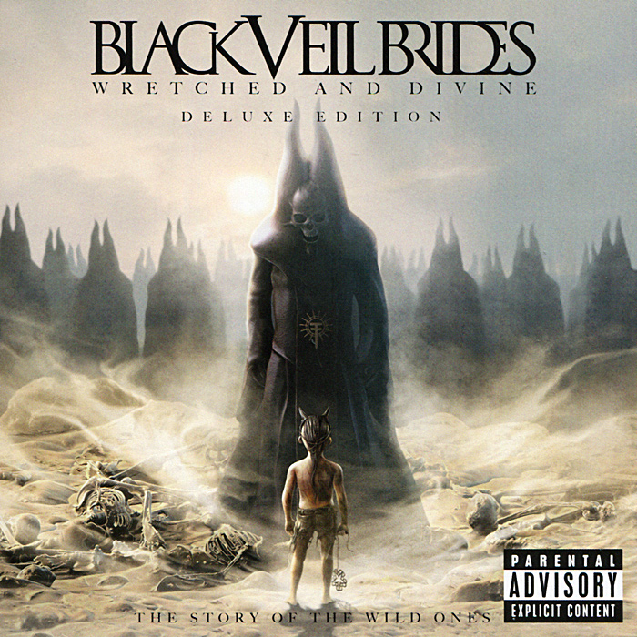 Black Veil Brides Black Veil Brides. Wretched And Divine. Deluxe Edition (CD + DVD) джеймс блант james blunt all the lost souls deluxe edition cd dvd