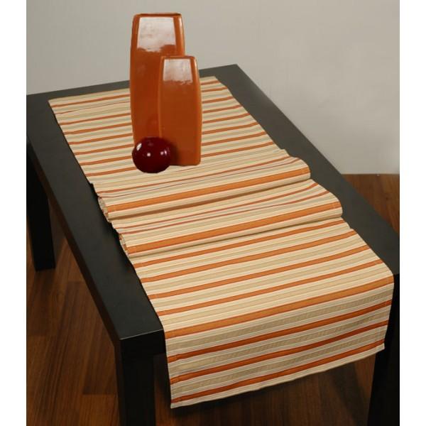 Дорожка для декорирования стола Schaefer, прямоугольная, цвет: бежевый, 40 x 140 см 4071-21107-416Прямоугольная дорожка Schaefer, выполненная из волокон полиэстера, акрила и вискозы бежевого цвета и оформленная полосатым рисунком, предназначена для декорирования стола, комода или тумбы. Благодаря такой дорожке вы защитите поверхность мебели от воды, пятен и механических воздействий, а также создадите атмосферу уюта и домашнего тепла в интерьере вашей квартиры. Изделия из искусственных волокон легко стирать: они не мнутся, не садятся и быстро сохнут, они более долговечны, чем изделия из натуральных волокон. Характеристики:Материал: 36% полиэстер, 32% акрил, 22% вискоза. Размер:40 см х 140 см. Цвет:бежевый. Артикул:4071-211. Немецкая компания Schaefer создана в 1921 году. На протяжении всего времени существования она создает уникальные коллекции домашнего текстиля для гостиных, спален, кухонь и ванных комнат. Дизайнерские идеи немецких художников компании Schaefer воплощаются в текстильных изделиях, которые сделают ваш дом красивее и уютнее и не останутся незамеченными вашими гостями. Дарите себе и близким красоту каждый день! УВАЖАЕМЫЕ КЛИЕНТЫ! Обращаем ваше внимание, что в комплектацию товара входит только дорожка на стол, остальные предметы служат лишь для визуального восприятия товара.