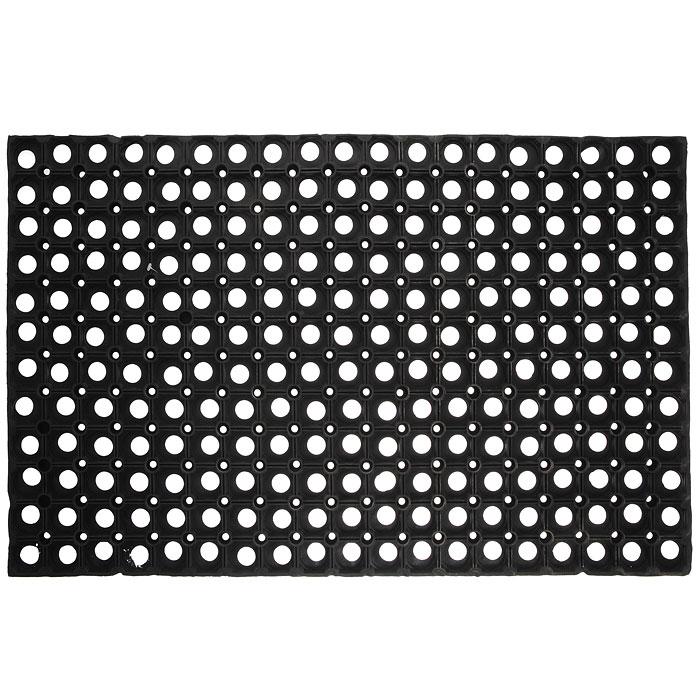 Коврик Vortex, грязесборный, цвет: черный, 50 х 80 см20092Коврик Vortex выполнен из резины и состоит из множества ячеек для сборки грязи. Он предназначен для защиты помещений от уличной грязи.Коврик Vortex прекрасно очищает подошву обуви от загрязнений. Характеристики:Материал: резина. Цвет: черный. Размер: 50 см х 80 см. Изготовитель: Индия. Артикул: 20002.