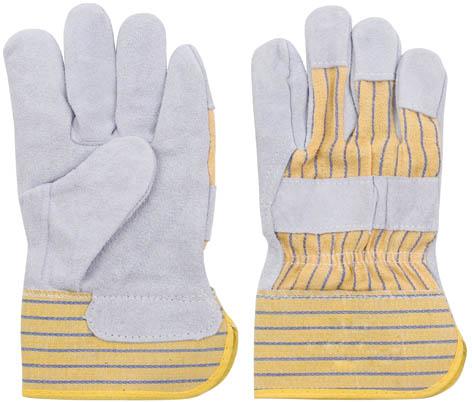 Перчатки рабочие кожаные, цвет: серый, 10,5531-301Перчатки рабочие кожаные предназначены для защиты рук во время строительных и погрузо-разгрузочных работ. Изготовлены из натуральной телячьей кожи, отличаются прочностью и износостойкостью. Перчатки позволяют крепко удерживать инструмент во время работы, препятствуя его выскальзыванию. Они удобны в эксплуатации и отлично защищают руки от грязи и механических повреждений. Характеристики: Материал: телячья кожа, ткань. Размеры перчаток:24,5 см x 14 см x 2 см. Размер упаковки:24,5 см x 14 см x 2 см.