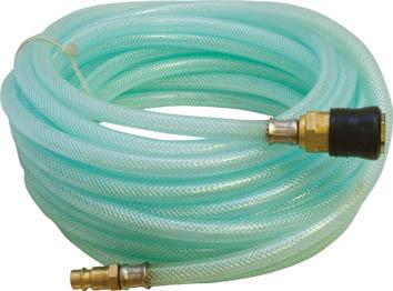 Шланг-удлинитель FIT, 10 м. 811631.645-504.0Витой шланг-удлинитель FIT применяется для подачи воздуха к пневматическому инструменту. Изготовлен из армированного ПВХ, отличается прочностью и удобством эксплуатации. Имеет коннектор с типом соединения байонет. Качество исполнения предотвращает перегибы и увеличивает удобство при использовании и хранении. Характеристики:Материал:армированный ПВХ, латунь, сталь, пластик. Длина шланга:10 м. Диаметр шланга:7 мм. Размер шланга:10 м x 1 см x 1 см. Размер упаковки:18,5 см x 17 см x 6,5 см.