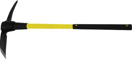 Кирка FIT, фиброглассовая ручка, 1,5 кгН-431706_синийКирка FIT предназначена для разрыхления твердого грунта при строительных и земляных работах. Инструмент прослужит в течение долгого времени, благодаря бойку из штампованной инструментальной стали. Инструмент оснащен удобной фиброглассовой рукояткой. Подойдет как для новичков, так и для профессионалов. Характеристики: Материал: пластик, металл. Длина ручки: 88 см. Размеры кирки: 45 см х 6 см х 5,5 см. Размеры упаковки:89 см х 9 см х 6 см.
