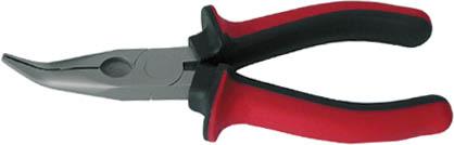 Утконосы FIT люкс, 160 мм. 5074654 009318Утконосы люкс FIT используются в слесарных или монтажных работах для удержания небольших предметов. Губки из хромванадиевой стали загнутой формы, позволяют работать в труднодоступных местах. Прорезиненные рукоятки не скользят в руке, обеспечивая надежный захват и эргономичность. Утконосы оснащены никелированным антикоррозийным покрытием, что обеспечивает долговечность применения. Характеристики: Материал: сталь, резина. Размеры утконосов: 16 см x 5 см x 2,5 см. Размер упаковки: 16 см x 5 см x 2,5 см.