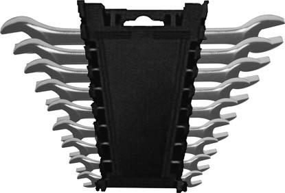 Набор ключей рожковых FIT, 9 шт2706 (ПО)Ключи гаечные рожковые FIT станут отличным помощником монтажнику или владельцу авто. Этот инструмент обеспечит надежную фиксацию на гранях крепежа. Специальная хромованадиевая сталь повышает прочность и износ инструмента. Состав набора: ключи 6 х 7 мм, 8 х 9 мм, 10 х 11 мм, 10 х 13 мм, 12 х 13 мм, 14 х 15 мм, 16 х 17 мм, 18 х 19 мм, 20 х 22 мм. Характеристики: Материал: сталь. Размер упаковки: 22 см х 15 см х 4 см.
