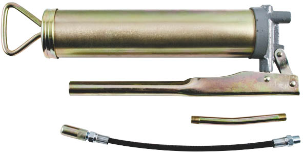Шприц автомобильный FIT, металлический, 400 г2706 (ПО)Шприц автомобильный FIT предназначен для нанесения смазочных материалов густой консистенции в подшипники и другие труднодоступные места. Характеристики: Материал: металл. Объем шприца: 0,4 кг. Размер шприца: 32 см х 10 см х 6 см. Размер упаковки:35 см х 11 см х 6 см.