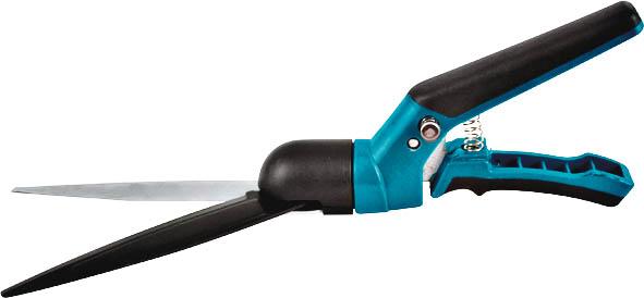 Ножницы для травы FIT, 350 мм. 77100TL-100C-Q1Ножницы FIT для стрижки травы в труднодоступных местах или для подравнивания вдоль дорожек. Удобные пластиковые рукоятки обеспечивают комфортную работу с инструментом. Лезвия выполнены из нержавеющей стали и имеют специальное тефлоновое покрытие, предотвращающее налипание срезанной травы. Предусмотрен поворотный механизм, который позволяет лезвиям поворачиваться на 180 градусов, для более качественной и удобной работы. Характеристики: Материал: сталь, пластик. Размер ножниц: 35 см x 7 см x 3,5 см. Размер упаковки: 39,5 см х 12 см х 4 см.