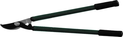 Сучкорез для тонких веток FIT, телескопические ручки, цвет: черный, зеленый, 945 ммRSP-202SСучкорез для тонких веток FIT применяется для придания формы кроне кустарников и деревьев. Телескопические рукоятки оснащены резиновыми накладками, что делает работу удобнее. Лезвия сучкореза изготовлены из инструментальной стали с тефлоновым покрытием, хорошо заточены и закалены. Характеристики: Материал: сталь, резина. Размеры сучкореза: 94,5 см х 23 см х 4 см. Размеры упаковки:94,5 см х 23 см х 4 см.