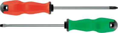 Отвертка Camel, 100 мм. 55474S04H52494SОтвертка Camel отличный ручной инструмент для закручивания и завинчивания шурупов, винтов и т.д. Рабочая часть данной отвертки изготовлена из хром - ванадиевой стали, отполирована и закалена. Отвертка исключает проскальзывание в руке благодаря эргономичной рукоятки. Характеристики: Материал: сталь, резина, пластик. Тип шлица: SL 4 (прямой шлиц). Размеры отвертки: 10 см х 3 см х 3 см. Размер упаковки: 10 см х 3 см х 3 см.