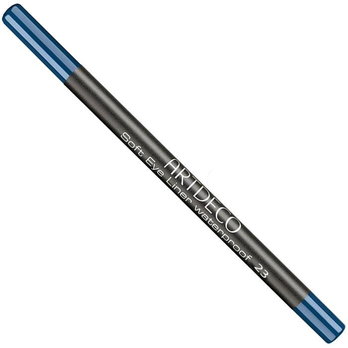Artdeco Карандаш для век водостойкий Soft Eye Liner Waterproof, тон №23, 1,2 г215106Мягкий водостойкий карандаш для век Artdeco Soft Eye Liner Waterproof - экстремально стойкий карандаш с мягкой комфортной текстурой и антиоксидантными компонентами в составе формулы. Не имеет отдушки и подходит людям с чувствительными глазами. Характеристики:Вес: 1,2 г. Тон: №23. Производитель: Германия. Артикул: 221.23. Товар сертифицирован.
