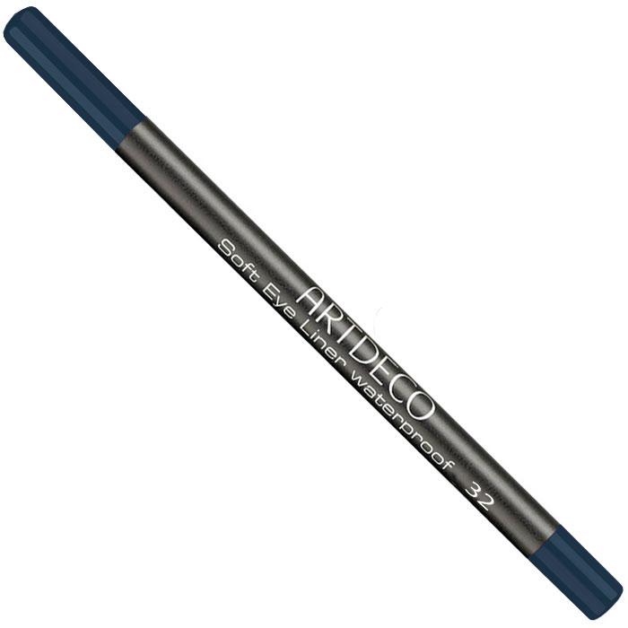 Artdeco Карандаш для век водостойкий Soft Eye Liner Waterproof, тон №32, 1,2 гSC-FM20104Мягкий водостойкий карандаш для век Artdeco Soft Eye Liner Waterproof - экстремально стойкий карандаш с мягкой комфортной текстурой и антиоксидантными компонентами в составе формулы. Не имеет отдушки и подходит людям с чувствительными глазами. Характеристики:Вес: 1,2 г. Тон: №32. Производитель: Германия. Артикул: 221.32. Товар сертифицирован.